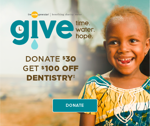 Donate $30, Get $100 Off Dentistry - Tustin Legacy Dentistry